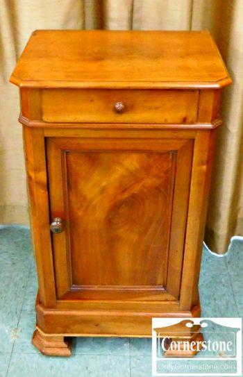5965-112 Antique Walnut Bedside Cabinet