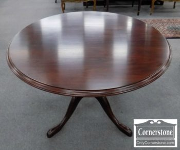 5965-1124 - Harden Solid Cherry Round Pedestal Table