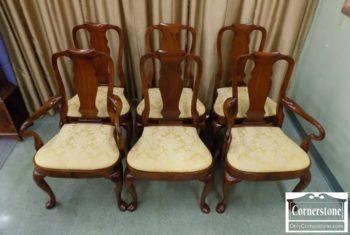 5965-1145 - Set of 6 Sol Mah QA Dining Chairs
