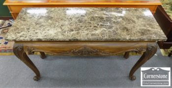 5965-1161 - Hekman Marble Top Sofa TableConsole