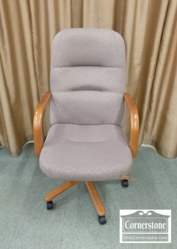 5965-1189 - Executive Desk Chair with Fabric Upholstery