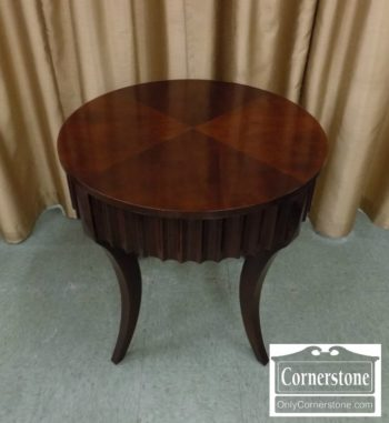 5965-1273 - EA Contemp Round End Table