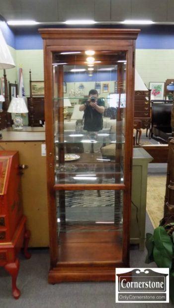 5965-1295 - Howard Miller Tall Single Door Curio