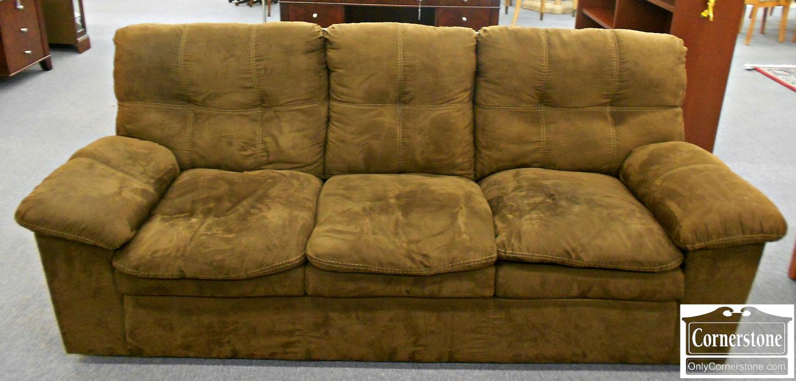 5965-141 Chocolate Brown Sofa