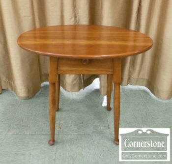 5965-1440 - Stickley Solid Cherry Oval End Table