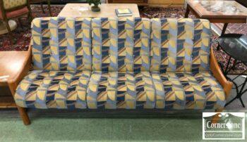 5965-1454 - Domino Mobler Teak Vint Dan Modrn Sofa