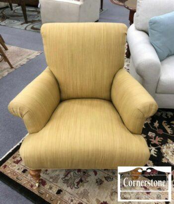 5965-1460 - Light Gold Yellow Club Chair