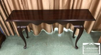 5965-1475 - Solid Cherry Queen Anne Sofa Table