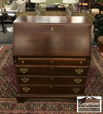 5965-1567 - American Drew Cherry Slant Front Desk