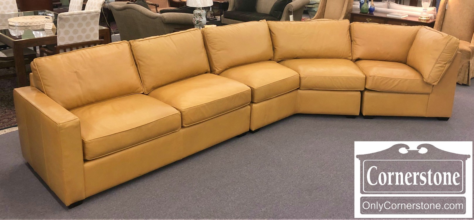 Stupendous Room Board Modern 3 Piece Tan Sectional Sofa Pabps2019 Chair Design Images Pabps2019Com
