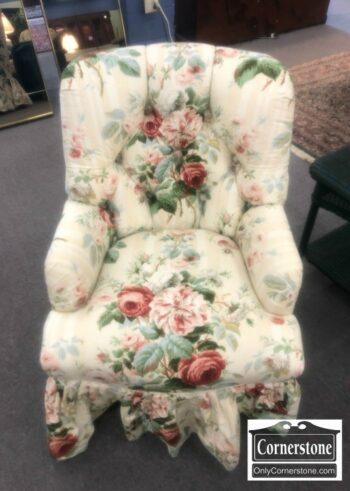 5965-1646-Floral Club Chair