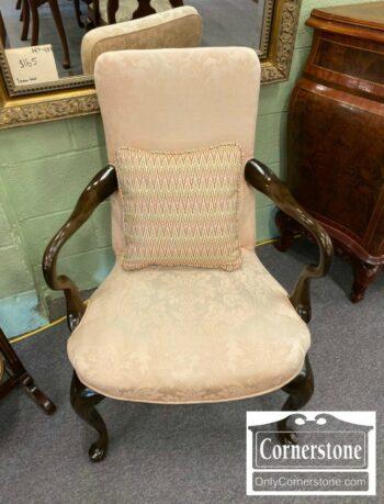 5965-1681-QA Arm Chair with Mauve Fabric