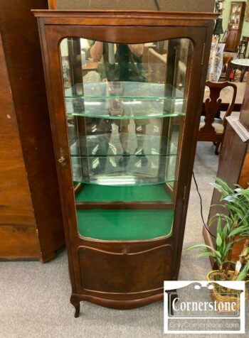 5965-1682-Antique French Style Curio
