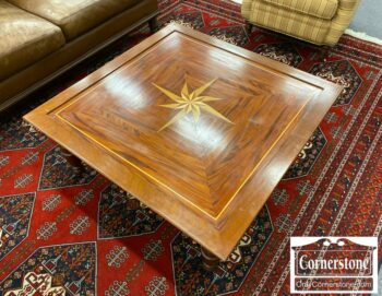 5965-1685-Large Rustic Rectangular Coffee Table