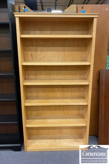 5965-1769- Tall Open Maple Bookcase