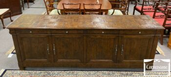 5965-1840-Century Large Rustic Console