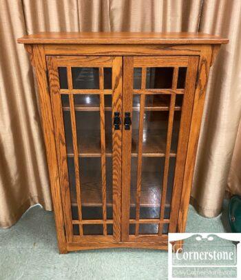 5965-1883-Amish Made Sol Oak Bookcase