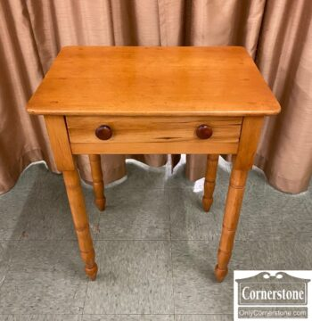 5965-1897-Antique One Drawer Stand