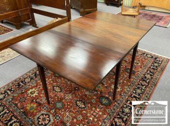 5965-1915 - Solid Mahogany Gateleg Dropleaf Table