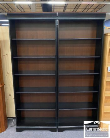 5965-1923 1924 - 2 Tall Open Bookcases