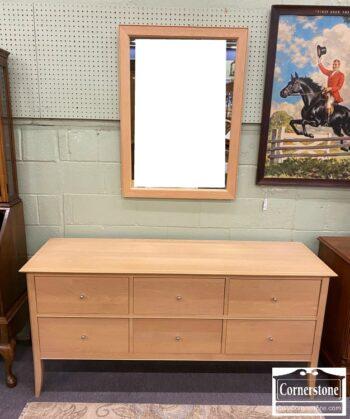 5965-1985 - Baronet Sol Maple Cont Dresser w Mirror