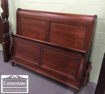 5965-2033-Durham Sol Maple Queen Panel Bed