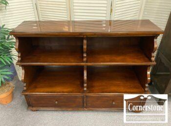 5965-2043 - Bassett Long Low Bookcase