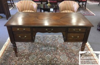 5965-2054-Executive Desk with Starburst Top