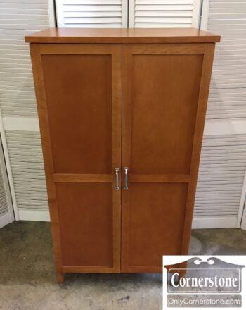 5965-2071 - Maple Desk Office Armoire