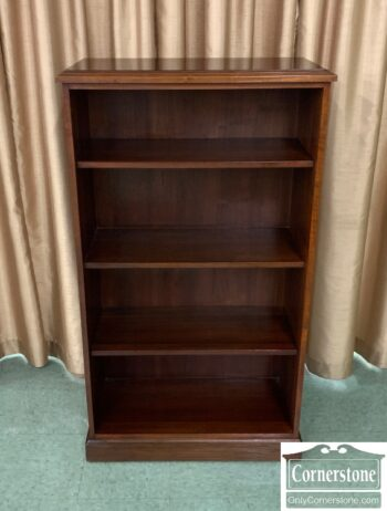 5965-2084 - Small Walnut Open Bookcase