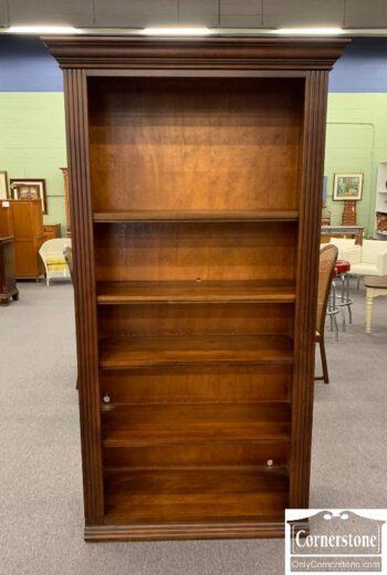 5965-2094 - Tall Open Pine Bookcase