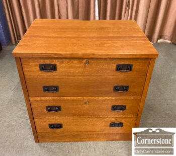 5965-2153 - Stickley Mission 2 Drw Lateral File