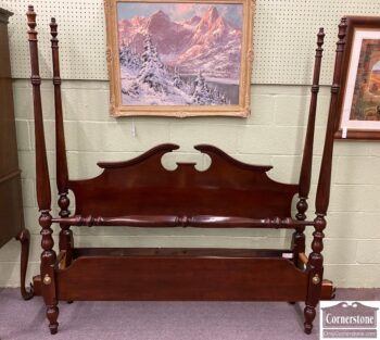 5965-2244 - Thomasville Cherry Q Poster Bed