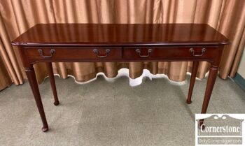 5965-2306 - 2 Drawer Cherry Sofa Table