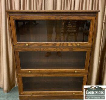 5965-2315 - Oak Barrister Bookcase