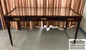 5965-2332 - Writing Desk with Mirror Top