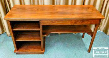 5965-236 Cabinet Made Solid Walnut Contemporary Desk