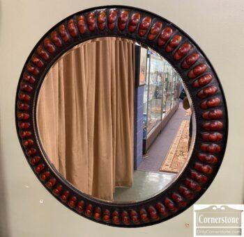 5965-2374 - Round Metal Mirror