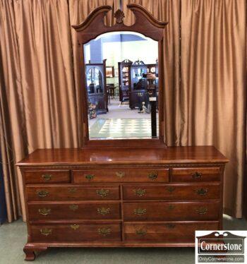 5965-2377 - National Mt. Airy Dresser w Mirror