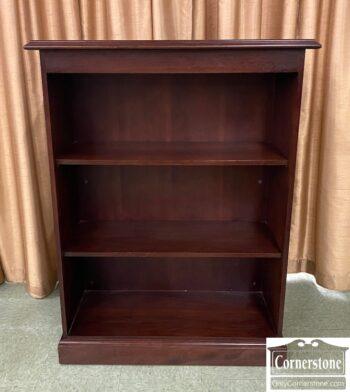 5965-2399 - Short Open Mahogany Bookcase
