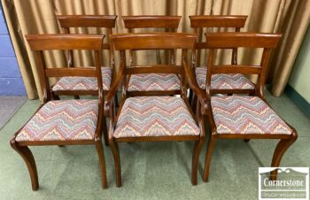 Set of 6 Cherry Brewster Dining Chairs