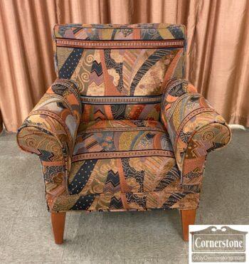 5965-2419 - Club Chair Modern Fabric