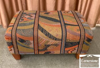 5965-2420 - Lg Rect Ottoman Modern Fabric