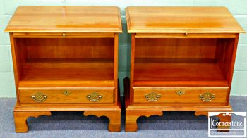 5965-245 Pair of Harden Solid Cherry Nightstands