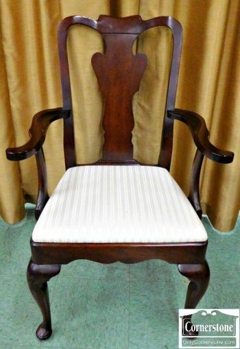 5965-275 Z Statton Solid Cherry Queen Anne Dining Chair