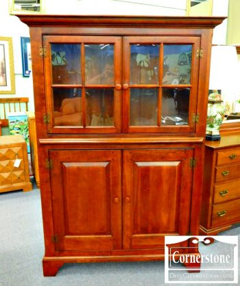 5965-288 Lexington Bob Timberlake Collection Solid Cherry Cabinet Bookcase