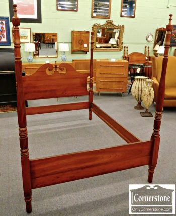 5965-302 Cabinet Made Full Size Poster Bed