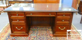 5965-312 Stanley Cherry Executive Desk
