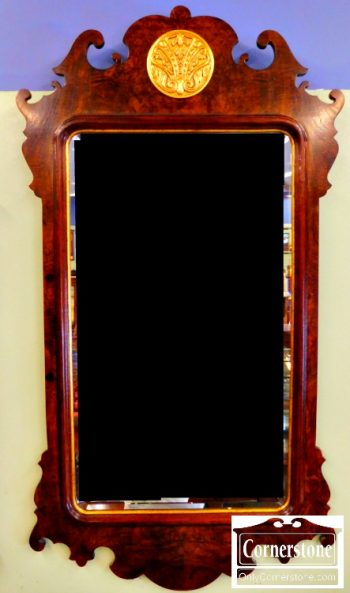 5965-392 Henredon Beveled Mirror (1)