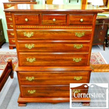 5965-524 Solid Cherry Tall Chest